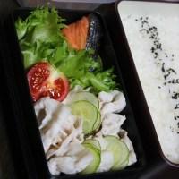 6月12日  冷しゃぶ弁当&マヨ玉ホットサンド
