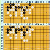 囲碁死活877官子譜