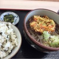 みんな大好き 野沢菜ご飯 (´▽`)