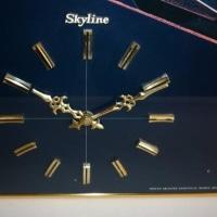 日産スカイライン誕生の日4月24日にアートパネル時計(ケンメリ)