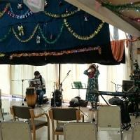 クリスマスの施設訪問