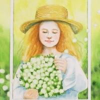 絵画販売・女の子が喜ぶかわいい絵画「ガーリアート特集 」