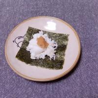 つまみ 大根と味噌の海苔包み