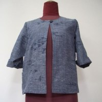 紬の着物からボレロジャケット(オーダー)