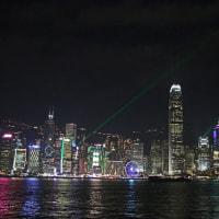 香港ヴィクトリア・ハーバーの夜景 6