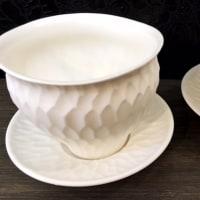 安藤良輔さん ゆらぎの湯呑、彫紋フリーカップ
