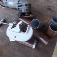 単管パイプのテラス(3)