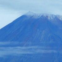 富士山に初雪