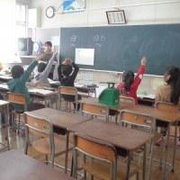 授業参観 3年生・4年生