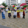 共謀罪法施行に抗議する7.11松本集会
