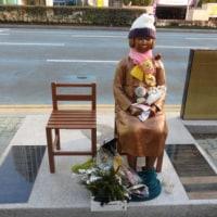 1 在韓米軍が女学生2人を轢く→死んだ女学生像を作って米軍を叩こうとする→米が怒る 2作成中の女学生像1人分作って終了→その像を慰安婦団体に売り込む 3女学生像を慰安婦像として流用