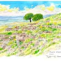 ペルガモ遺跡 世界わがスケッチの旅 苦難の旅