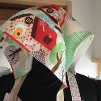 立体的なカッティングの三角巾