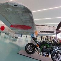 「飛燕(ひえん)戦闘機 復元展示」神戸ポートターミナル・大ホール2016.10.17.