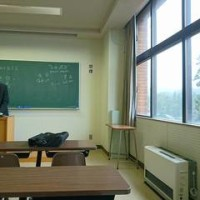 霧の高野山 高野山大学で中国語講座の聴講