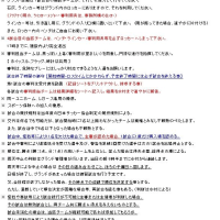 有明カップ2013 注意事項