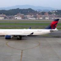 デルタ航空 A330 FUK
