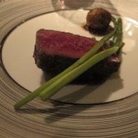 炭火焼の牛肉