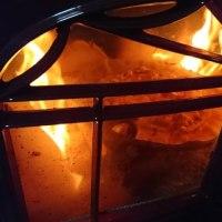 薪ストーブでピッツァを焼く!