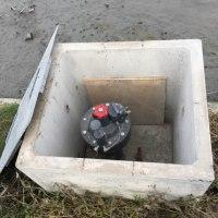 パイプラインの給水栓の冬支度 その2