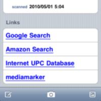 無料でiPhoneをバーコードリーダー化してメディアマーカーに登録