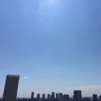 6/17の朝の空