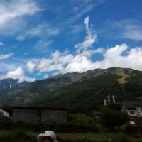 雨模様がなぜか青空に恵まれた白馬合唱祭2016