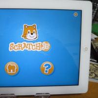 iPadでScratch Jrを
