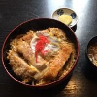 昼食 千厩 寿司まさ カツ丼