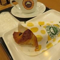 おやつタイム IN 仙台 (24) サンマルクカフェのレモンチーズチョコクロ
