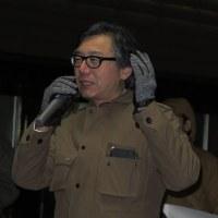 2月福井県議会日程決まる。戦争する国づくり反対宣伝行動。金子光伸さんのお通夜に