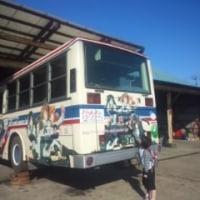 茨城交通のバス(戦車娘バージョン)…