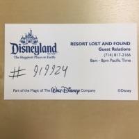 ディズニー遺失物(LOST&FOUND)
