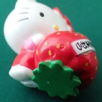 ご当地キティ 504-2 福岡 あまおう2014 Fukuoka Strawberry AMAOU