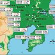 放射性プルーム3月15日と21日をピークに東北南部や関東に向けて広く拡散