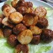 簡単!「長芋と肉団子の中華風甘酢あんかけ」