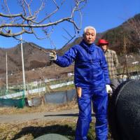 道法正徳さんの自然栽培の果樹講習に参加して
