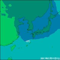 小浜市、大雪……積雪75センチ、鳥取県鳥取市も85センチ(2017年2月10日~11日)