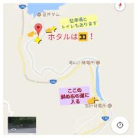 温井ダム下流の滝山川でホタル鑑賞。すごい数!