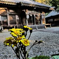 『秋景』 高来神社