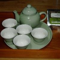 誰に頂いたか忘れてしまった中国茶用のセット