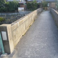 まち歩き伏0400  疏水と橋  相深橋