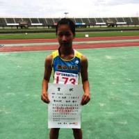 7月3日 富山県小学生陸上競技交流大会