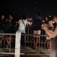 ナワラット橋から三人の王様像へ(チェンマイ)
