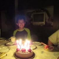 誕生日と父の日合同パーティー