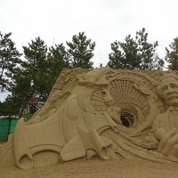 芦屋砂像展