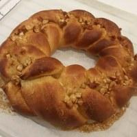 お料理教室 メープルナッツのパン作ったぶー!