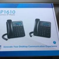 SIP電話機 GXP1610 設置編