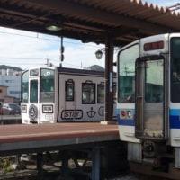 岡山の列車(La Malle de Bois(ラ・マル・ド・ボァ)と213系)