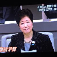 12/2 政党復活予算 小池都知事はすごいことを教えてくれた